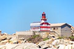 Lavezzi latarnia morska, Corsica, Francja Fotografia Royalty Free