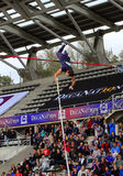 Lavillenie Renaud on DecaNation International Outdoor Games Royalty Free Stock Photography