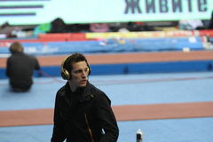Lavillenie Renaud wins men's competition Royalty Free Stock Photo