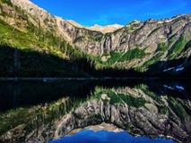 Lavin sjö Royaltyfria Foton