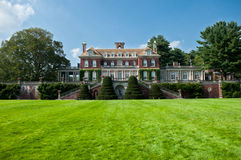 Lavish beautiful mansion  exterior Royalty Free Stock Images