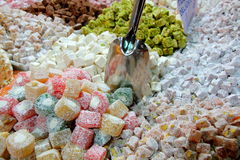 Lavish turkish sweets Stock Photo