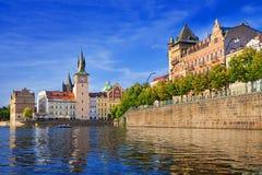 Lavka and Bedrich smetana museum in Prague Stock Photo