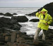 Lavorando ad un litorale Immagine Stock Libera da Diritti