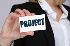 Lavorando agli scopi di scopo dell'ufficio del progetto proietta l'affare di pianificazione Fotografia Stock Libera da Diritti