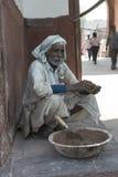 Lavoratore indiano, Agra, India Immagine Stock Libera da Diritti