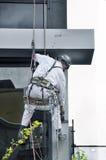 Lavoratore maschio di manutenzione Fotografia Stock
