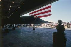 Lavoratore notturno di Lockheed F-117 Fotografie Stock Libere da Diritti