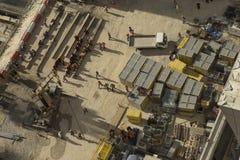 Lavoratori che prendono una rottura Fotografia Stock Libera da Diritti
