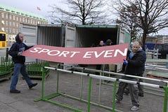 Lavoratori di DENMARK_polish Fotografie Stock Libere da Diritti