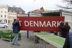 Lavoratori di DENMARK_polish Fotografia Stock