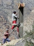 Lavoratori nepalesi Immagini Stock