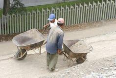 Lavoratori salariati Fotografie Stock