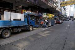 Lavoratori sul lavoro in Asia fotografie stock libere da diritti