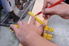 Lavorazione del legno Fotografia Stock Libera da Diritti