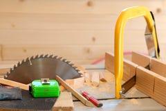 Lavorazione del legno immagine stock