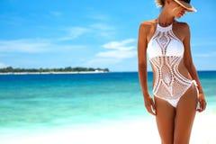 Lavori all'uncinetto il bikini fotografie stock libere da diritti