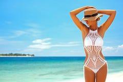 Lavori all'uncinetto il bikini immagine stock libera da diritti