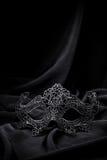 Lavori all'uncinetto la maschera di carnevale Fotografia Stock