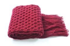 Lavori all'uncinetto la sciarpa Fotografia Stock