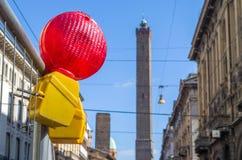 Lavori Bologna (Italia) Immagine Stock
