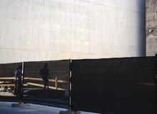 Lavori di costruzione Fotografia Stock