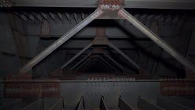 Lavori di costruzione Costruzione del ponte archivi video