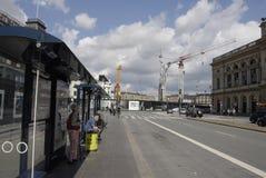 Lavori di costruzione di DENMARK_metro Immagine Stock Libera da Diritti