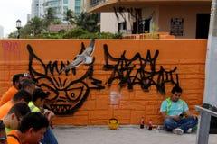 Lavori di costruzione a Miami Fotografie Stock