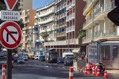 Lavori di costruzione in Monaco Immagini Stock Libere da Diritti