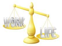 Lavori l'equilibrio di vita Fotografie Stock Libere da Diritti