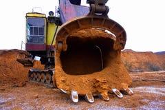 Lavori minerari fotografia stock