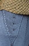 Lavori o indumenti a maglia Immagini Stock