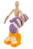 Lavori o indumenti a maglia del bambino Immagine Stock Libera da Diritti