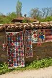 Lavori o indumenti a maglia tradizionali immagini stock