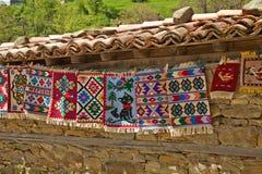 Lavori o indumenti a maglia tradizionali Fotografia Stock Libera da Diritti