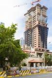 Lavori stradali e costruzione in Panamá fotografia stock
