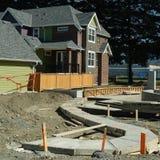 Cantiere e degli alloggi nuovi Immagine Stock