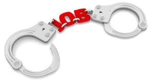 Lavoro come limitatore di libertà Immagini Stock Libere da Diritti