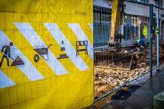 Lavoro in corso Fotografia Stock Libera da Diritti