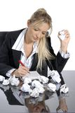 Lavoro d'ufficio immagine stock libera da diritti