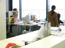 Lavoro d'ufficio Fotografia Stock