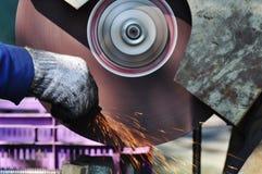 Lavoro del metallo Fotografia Stock Libera da Diritti