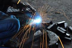 Lavoro del metallo Immagine Stock