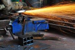 Lavoro del metallo Immagini Stock Libere da Diritti