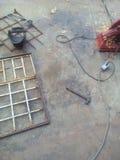 Lavoro del metallo Immagini Stock