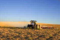 Lavoro dell'azienda agricola Immagine Stock
