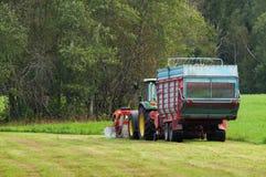 Lavoro dell'azienda agricola Fotografia Stock Libera da Diritti