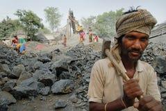 Lavoro dell'indiano Fotografia Stock Libera da Diritti