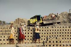 Lavoro della donna in India Immagine Stock